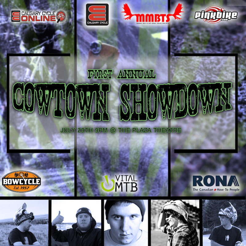 Five photographers from Calgary go head to head in a 48 hr battle to go out and shoot a MTB slideshow to be premiered in Calgary at the Plaza Theater at 9pm on Sunday JULY 29th Tix are 5 at the door more info http www.facebook.com events 180081168789874