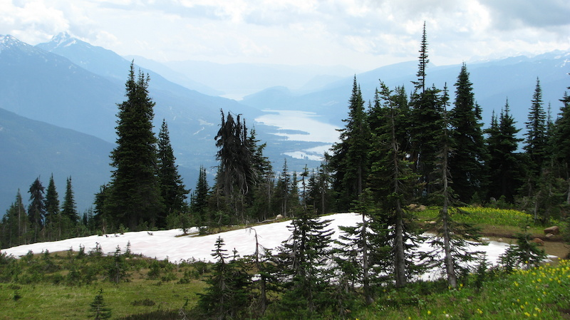 Revelstoke to the south