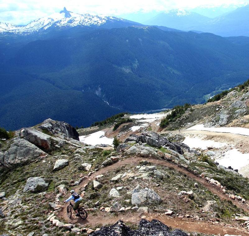 Whistler s alpine is the Top of the World