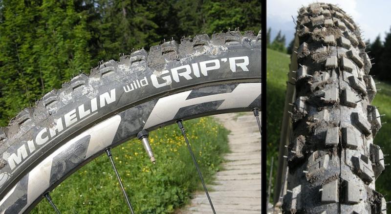 Michelin WIldgrip r tire