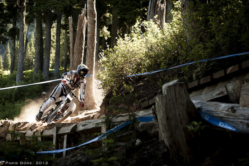 Mitch and the Specialized Team are up here this weekend on the way up to Crankworx. The loose and fast course has been treating everyone pretty well.