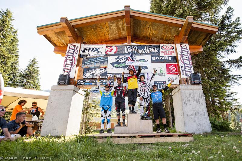 Pro Men s podium