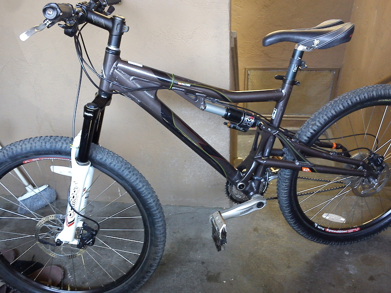 K2 Factory 40 Full Suspension Downhill Bike For Sale