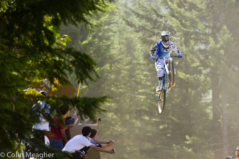 Adolfo Almarza went from the Garbanzo DH to the Whip-off Worlds. Not much whip but damn The guy s got stones.