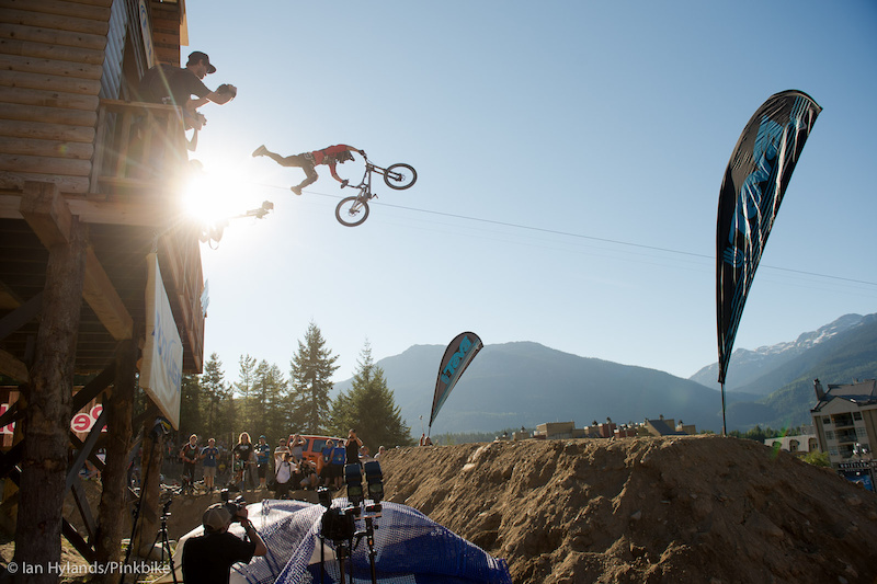 The Teva Best Trick contest at Crankworx