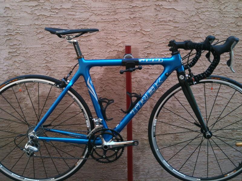 2007 Trek 5000 Tct Carbon Size 52cm Blue For Sale