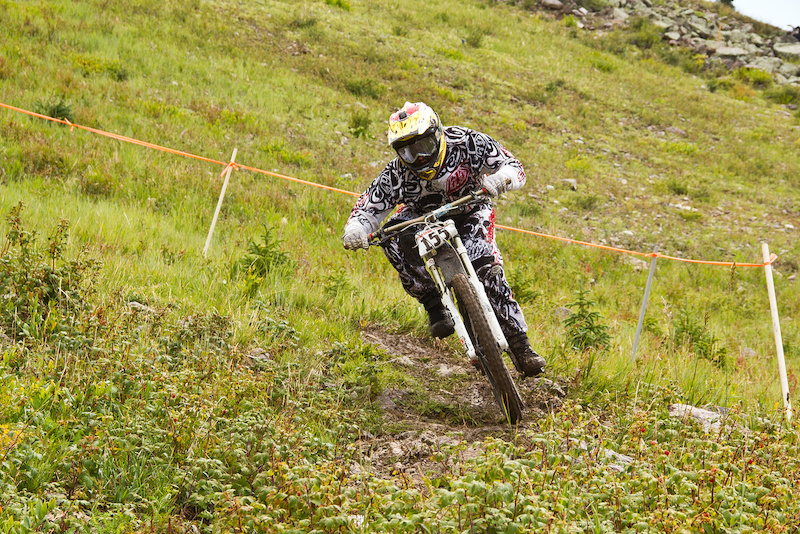 Winner of Cat. 2 age 30-40. Photos from the 2012 Flyin Brian Downhill race held annually in Brian Head Utah.