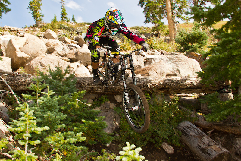 Pro Men s podium. Photos from the 2012 Flyin Brian Downhill race held annually in Brian Head Utah.