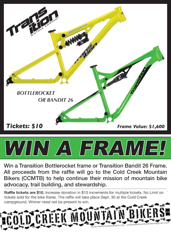 Win a Transition Frame