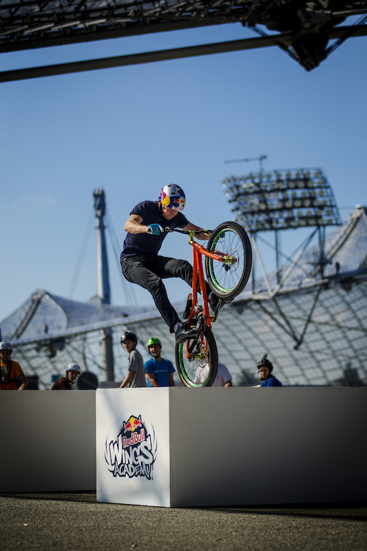 Wings Academy Licence to Trial Workshop with Danny MacAskill Olympic stadium August the 17th 2012