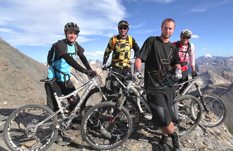 Epic mission up a 3700 peak