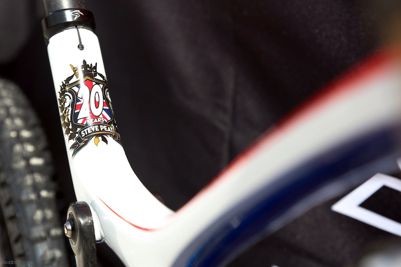 Steve Peat s 2012 World Champs bike - image by Jacob Gibbons