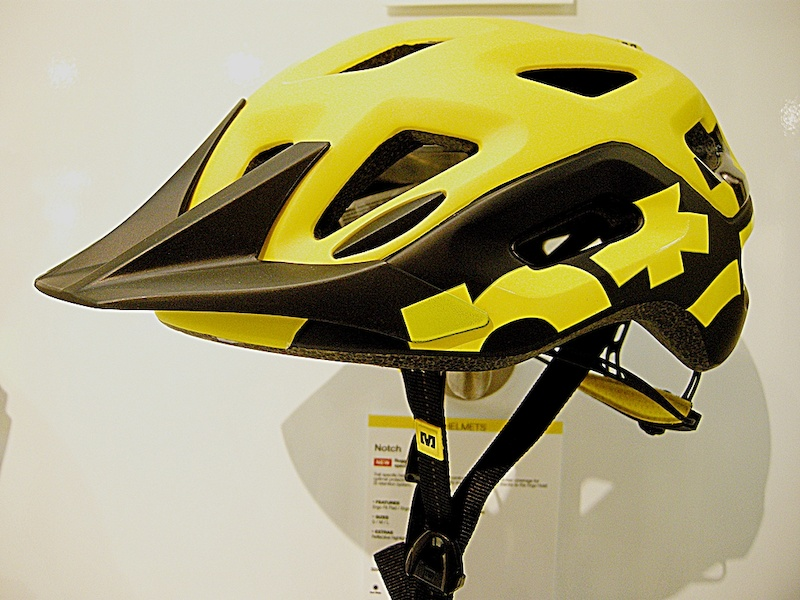 Mavic Notch Helmet side view