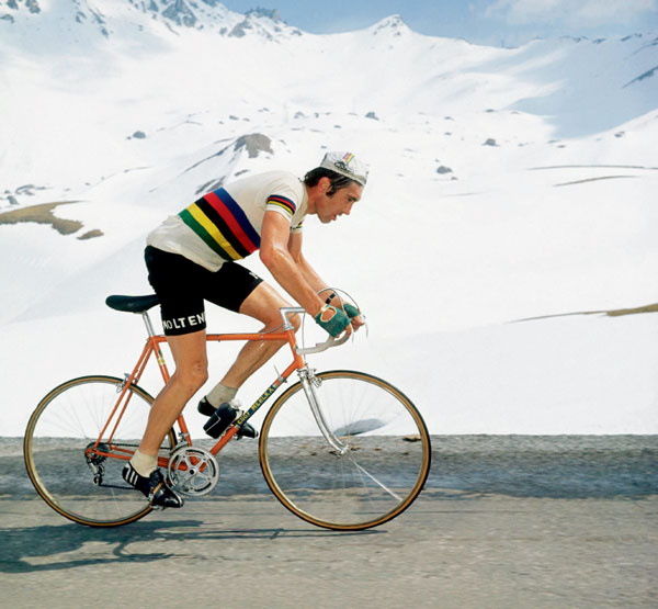 1971 World Champion riding Le Dauphiné Libéré (1972)