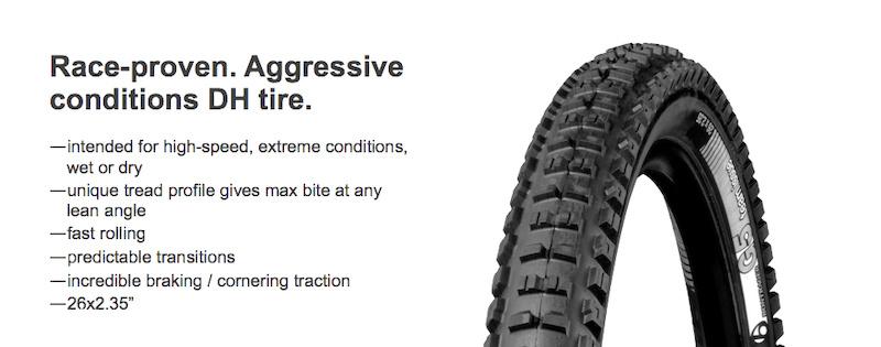 Bontrager G5 tire