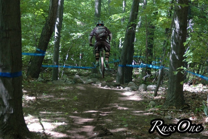 Hoppin thru the Loamy woods section