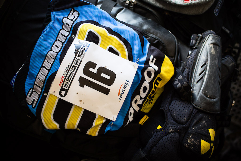 Team CRC Nukeproof at 2012 World Cup finals