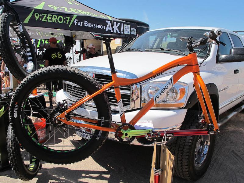 9 Zero 7 Fat Bikes from AK Link
