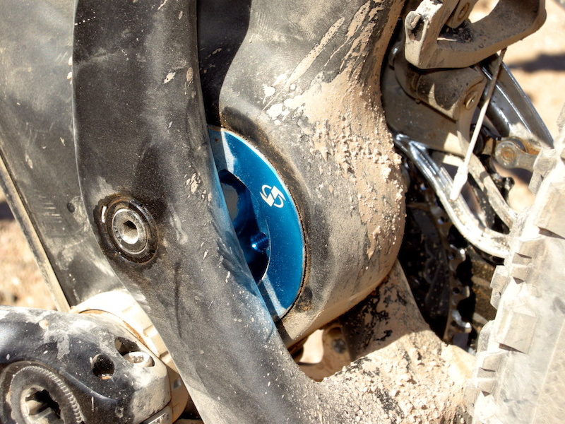 Yeti 66 Carbon suspension detail