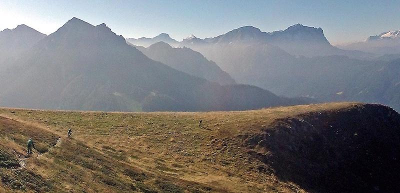 Dolomites and Marmolata views
