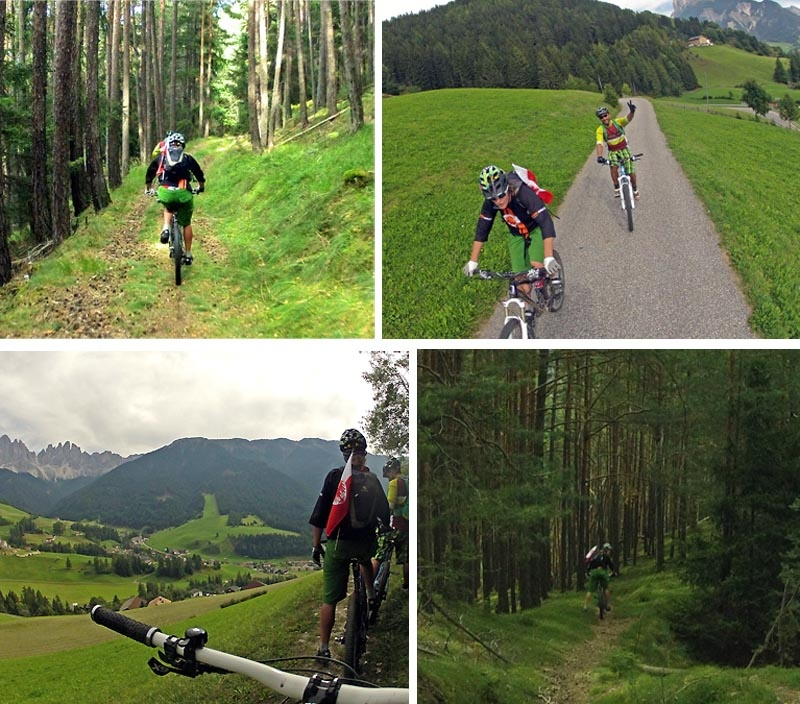 Down up then down again and traverse back to Brixen via Val DiFunes