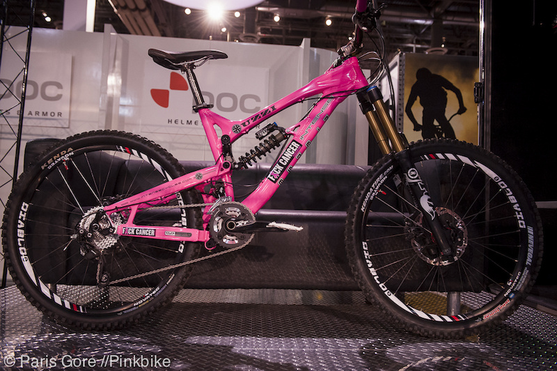 Custom Pink Intense Uzzi We Have A Winner Pinkbike