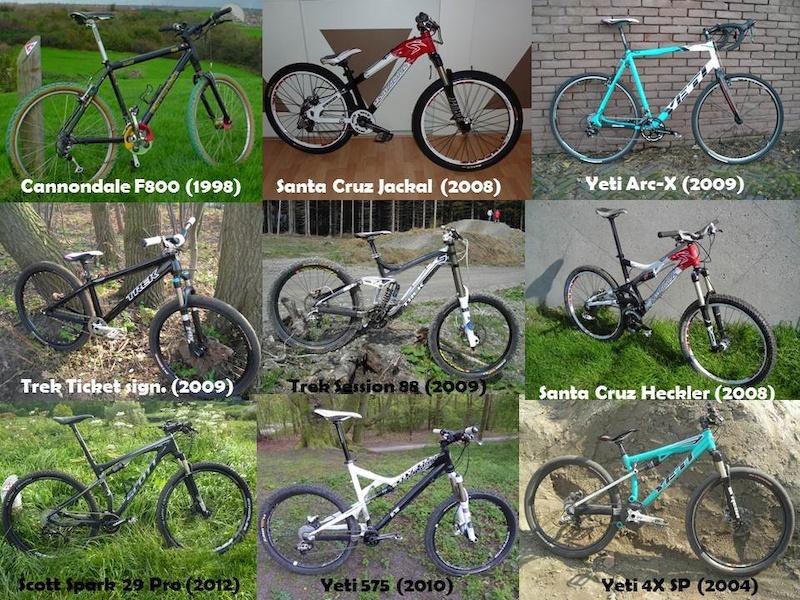 My bikes @ september 2012