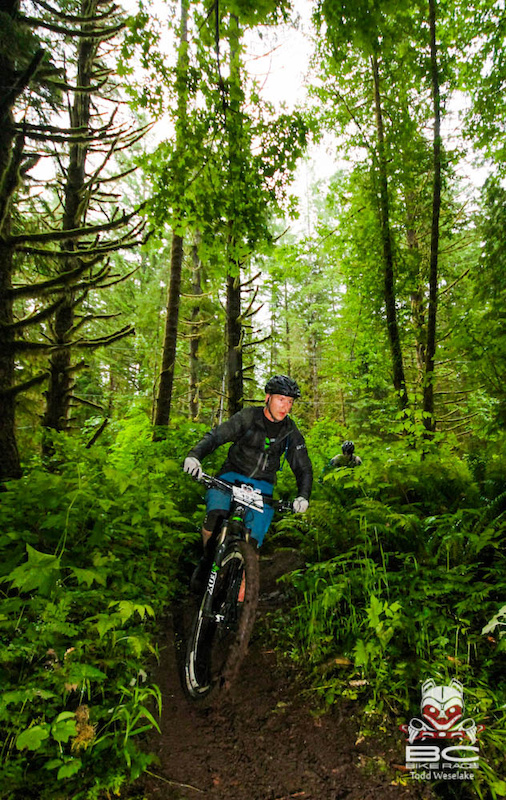 Mike Levy riding the Rocky Mountain Element MSL BC Edition