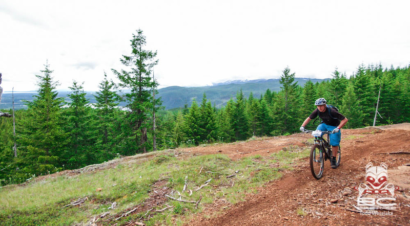 Rocky Mountain Element 970 B.C. Edition ridden by Mike Levy at the BCBR