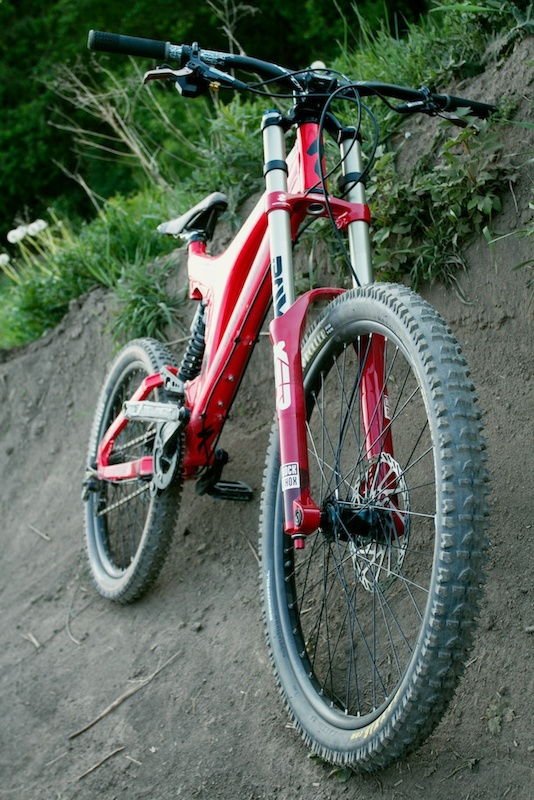 Bighit, my first DH bike.