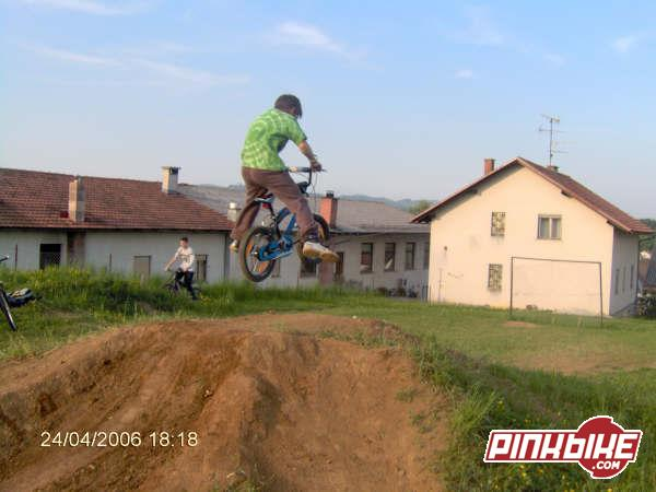 no footer by 11yrs old on 16inch wheels