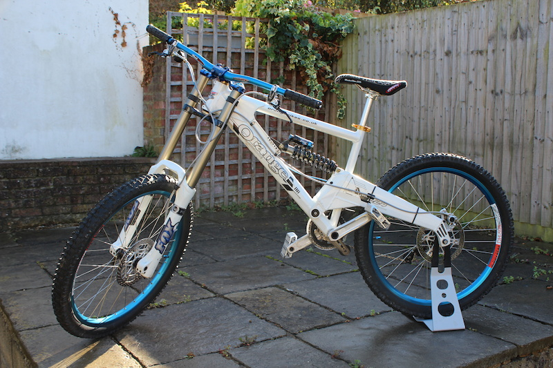 Orange 224 Evo Downhill Dh Bike 17 Large For Sale