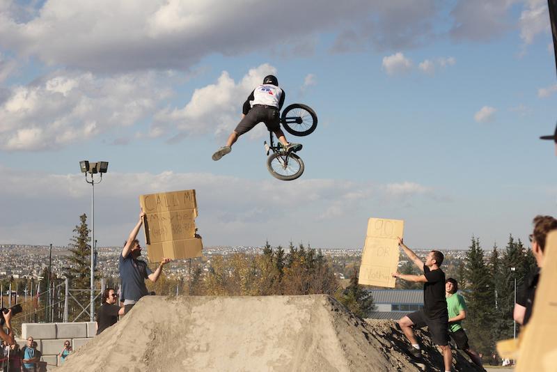 Bmxer at the Whipoff photo Austin Odegnal