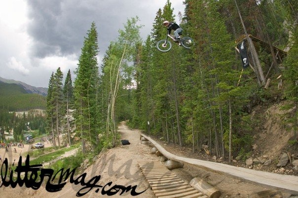 old shot from the original crankworx co