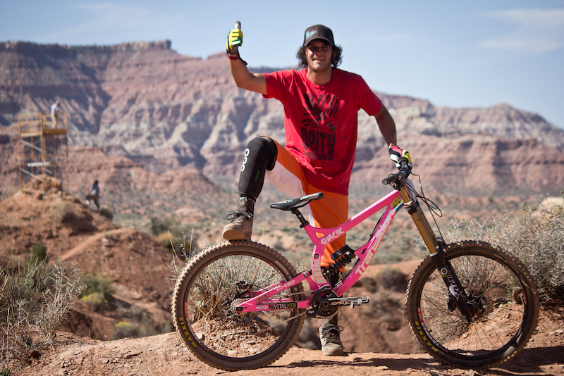 My 2012 Transition TR450 for Rampage. Photo by Brandon Turman of VitalMTB