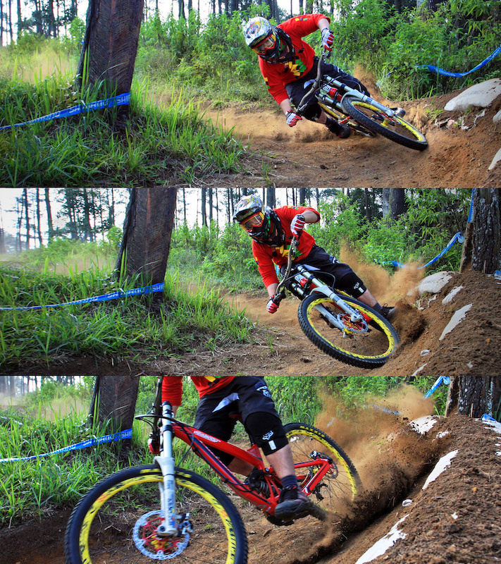 mixed sequence berm shoot