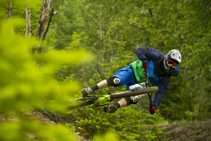 Mike getting pretty scrubby while filming for Gravity's Four Days Rain