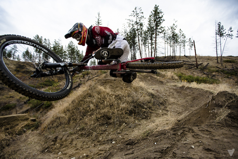Getting flat out of the berm gap