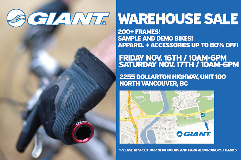 2012 Giant warehouse sale
