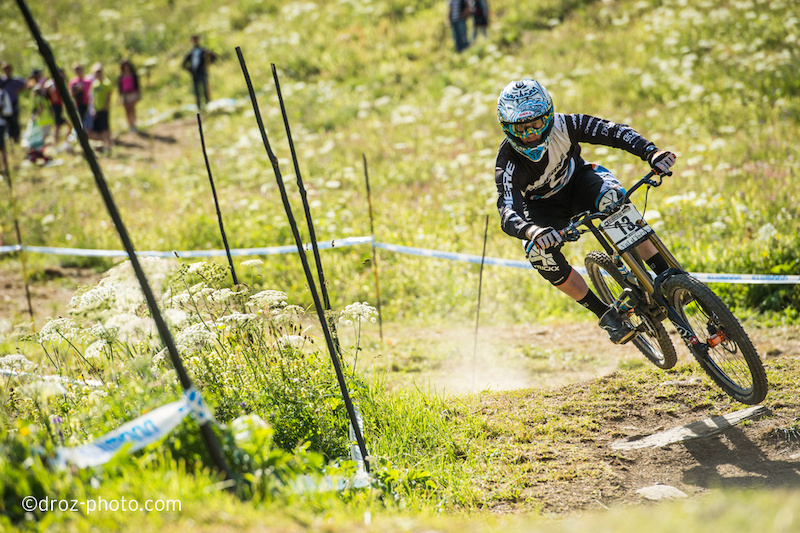 Cam Cole win the qualifications and he was the last guy in the final...