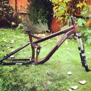 Specialized Pitch 2010 Frame with shock
