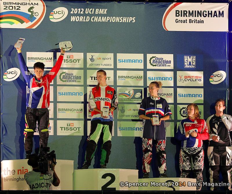 17 amp over Amateur Female World Championship podium.