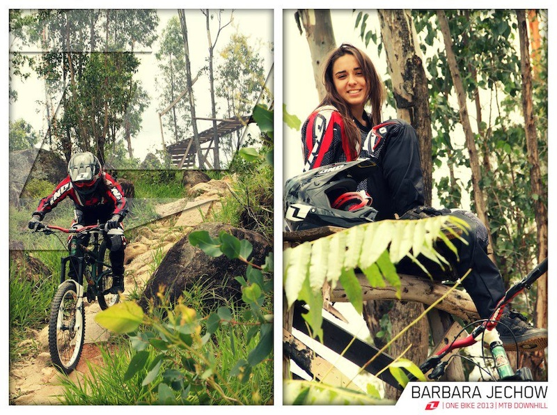 Barbara Jechow, MTB Downhill athlete, will join the team ONE Industries in 2013. The young pilot of 18 years, will join the veterans, Lu Lancellotti and Julian Rocha, to form the team that will represent the division dedicated to the brand bikes next season.