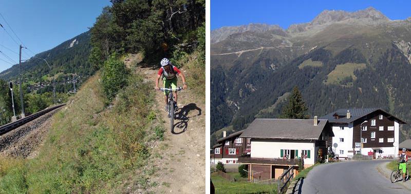 We took a few different wanderwegs right back to Fiesch