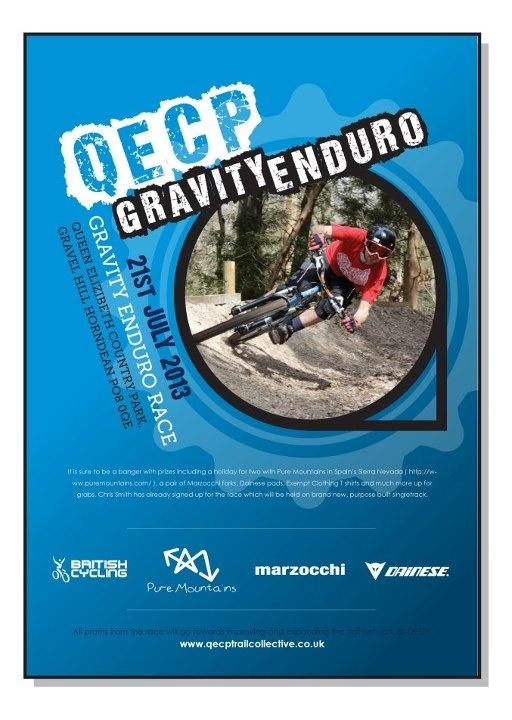 Poster For Gravity Enduro