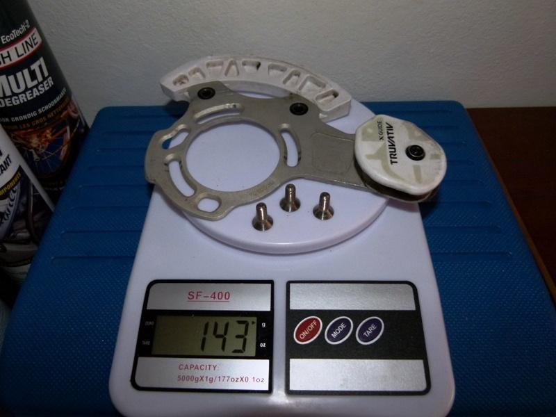 Truvativ X-Guide 36-38T (titanium bolts)