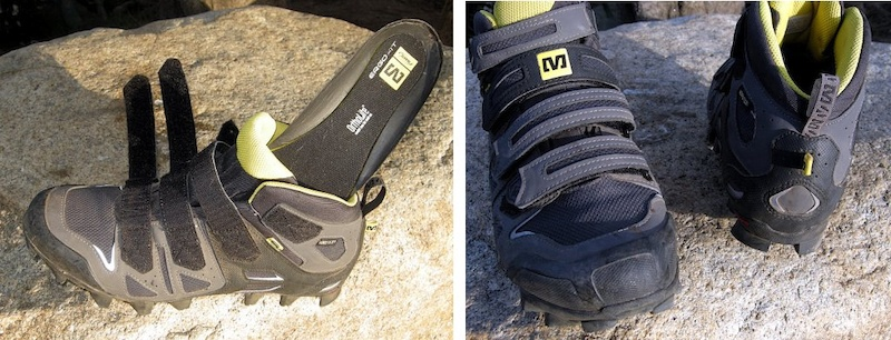 Mavic Scree Shoe Ergo Fit Ortholite insole rubber reinforced toe and heel