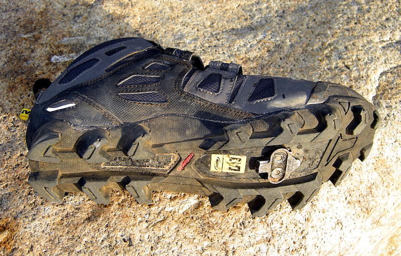 Mavic Scree Shoe Terragrip outsole