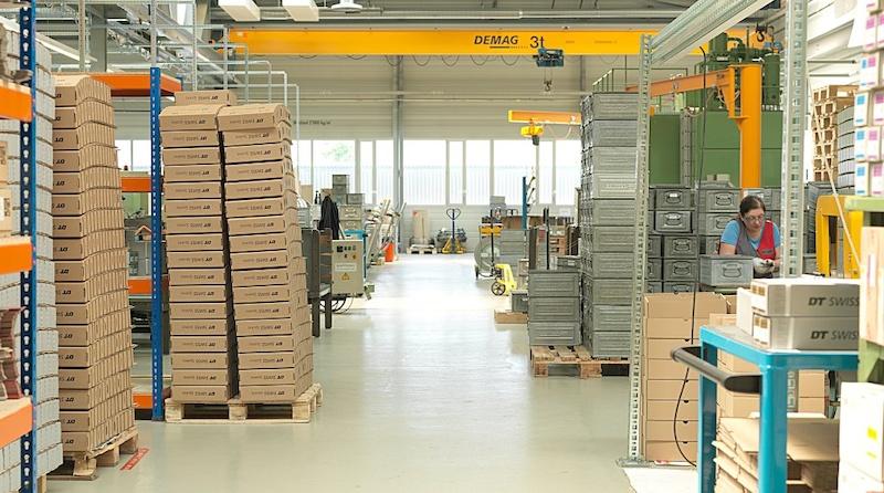 DT Swiss factory