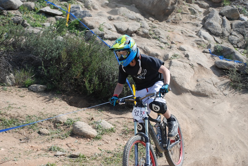 Racing and stuff I m usually pinned in the tech parts of the trail but the damn wall